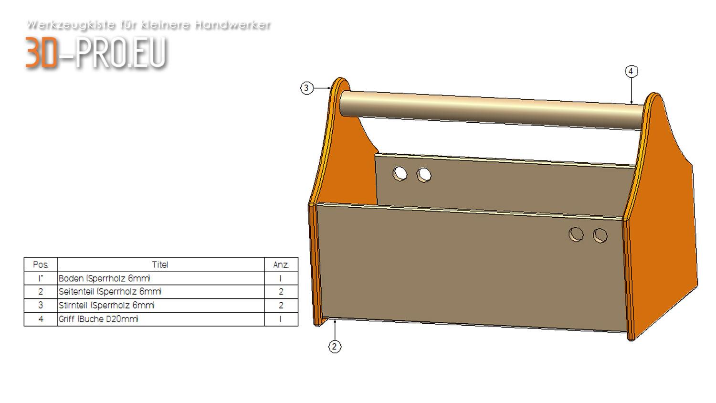 werkzeugkiste f r kleine handwerker 3d pro eu. Black Bedroom Furniture Sets. Home Design Ideas